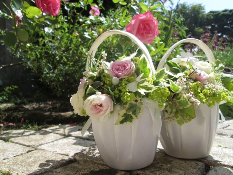 Flower girls baskets